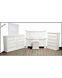 HIGH COTTON DOUBLE X WW BEDROOM GROUP