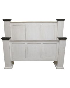 WW/123A QUEEN ECONO STRAIGHT TOP BED