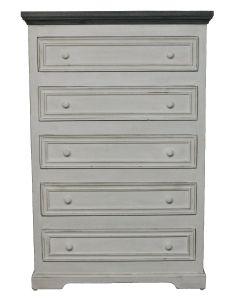 WW/123A OASIS 5 DRAWER CHEST