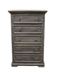CHARCOAL GRAY COLISEO CHEST