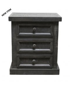 HIGH COTTON DOUBLE X GRAY NIGHT STAND