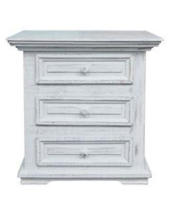WHITE COLISEO/CLAUDIA NIGHT STAND