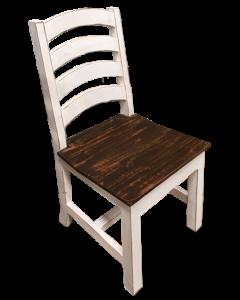 WW/15W WOOD SEAT LADDER CHAIR