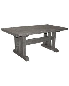 CHARCOAL GREY 6' 3 LINES TABLE
