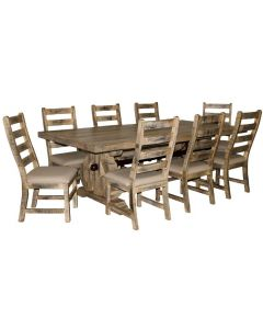 SAVANNAH BURNT CREAM DINING SET