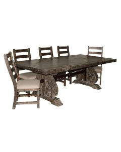 SAVANNAH BARNWOOD DINING SET