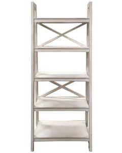 WW X BRACE LADDER BOOKSHELF