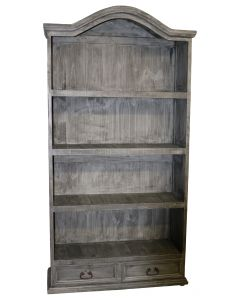 CHARCOAL GRAY BOOKCASE