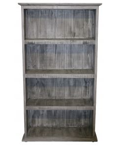 CHARCOAL GRAY LARGE BOOKCASE