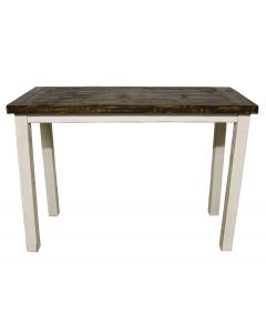 WEATHERED WHITE SOFA TABLE