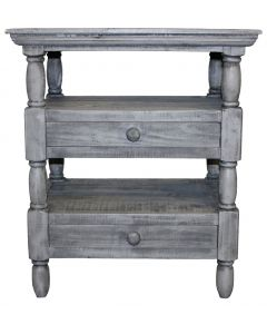 CHARCOAL GRAY 2 DWR COTTAGE END
