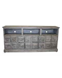 """70"""" CHARCOAL GRAY 2 DR 2 DWR TV"""