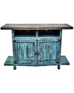 TURQUOISE TV STAND