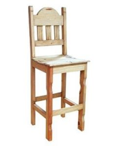 30IN WOOD SEAT BARSTOOL