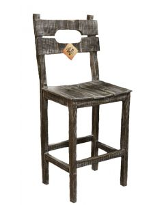 30IN WS BARN WOOD BAR STOOL