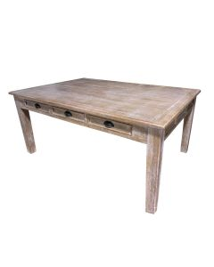 6' JOANNA TABLE w/ DRAWERS  - CABERNET